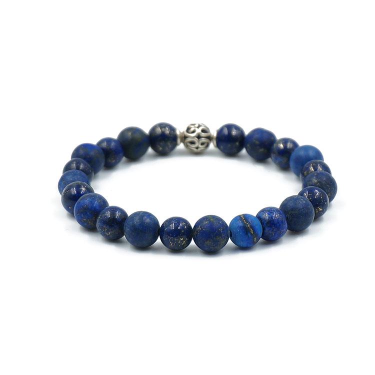 Bracelet-lapis-lazuli-argent-charm